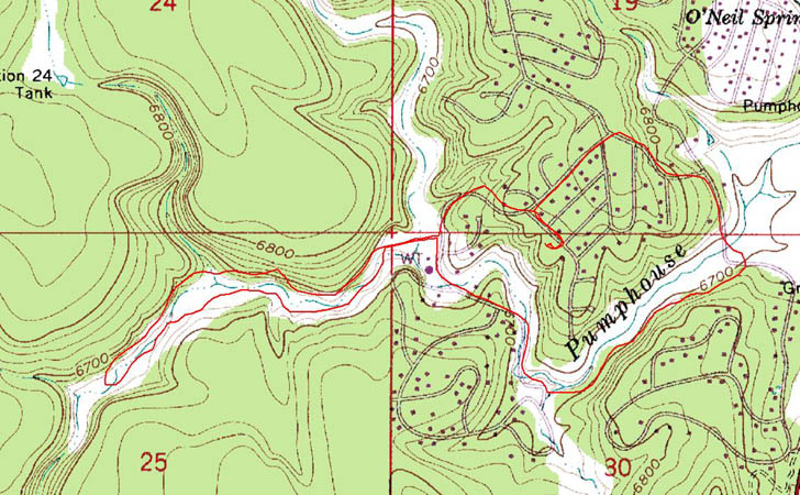 shapefile converted to GPS track