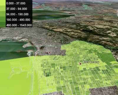 Census data in Google Earth