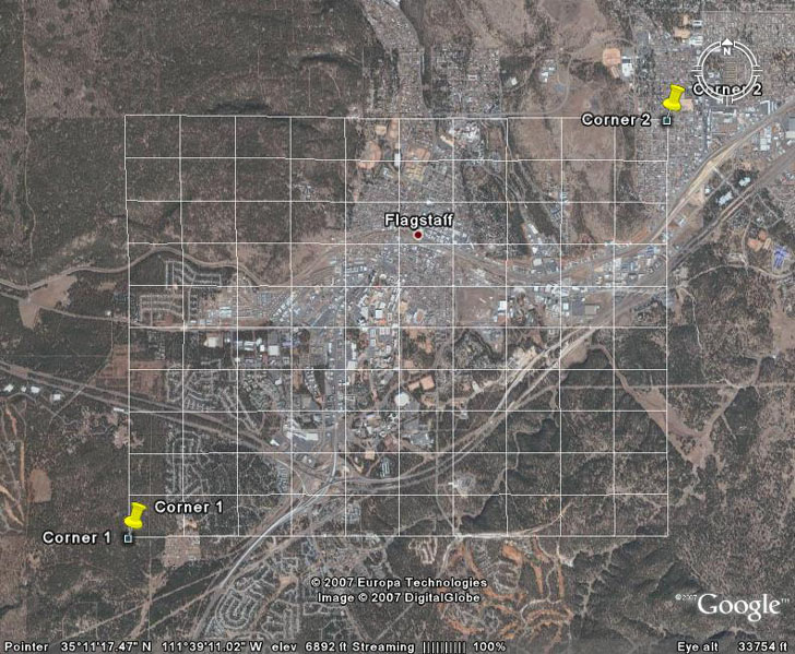 Drawing Lines With Google Earth : Drawing grids paths and polygons in google earth using ge