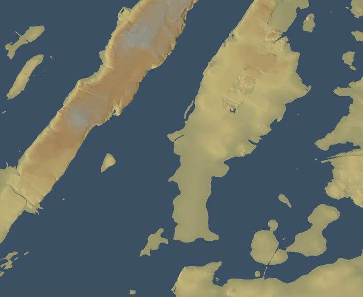 Manhattan flooded by 8 meters of sea level rise due to storm surge or global warming