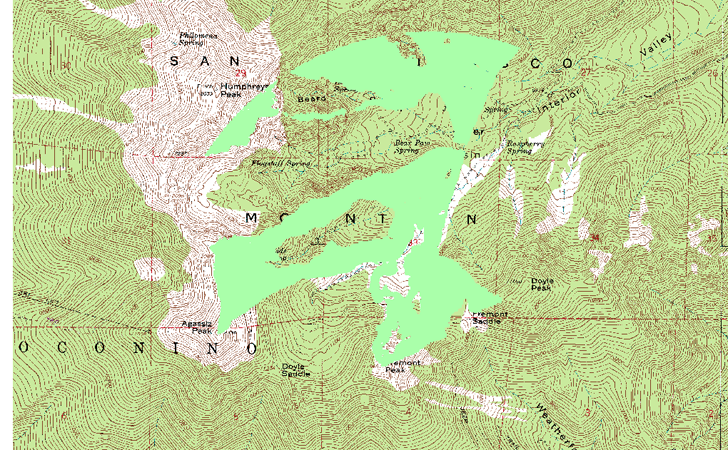 Converting Raster Area Images Into Polygon Shapefiles - World elevation map shapefile