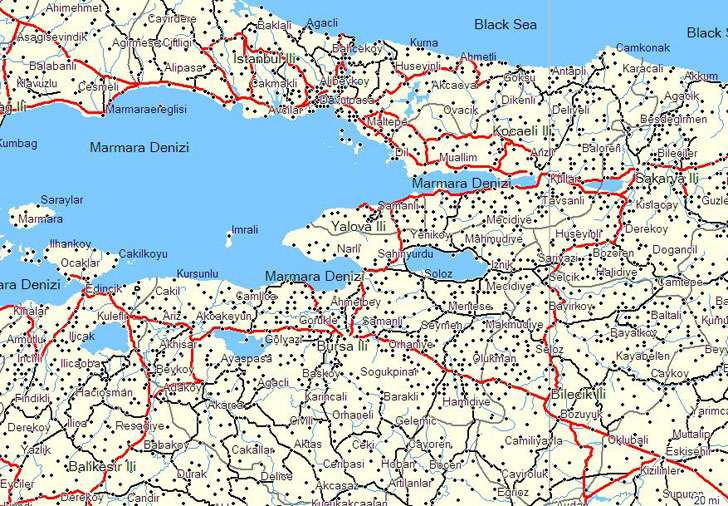 Garmin Turkey map