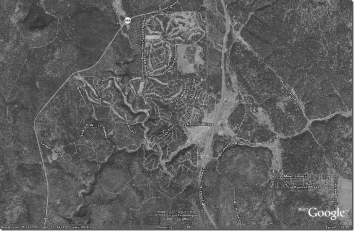 Google Earth image with worldfile