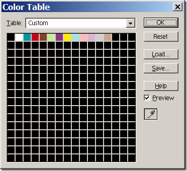 colortable