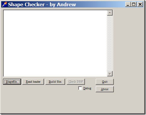 shapechecker