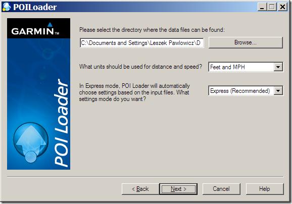 Creating A Garmin Custom POI Datafile