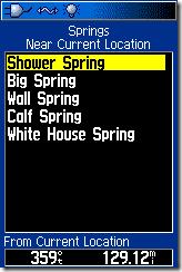 springs display