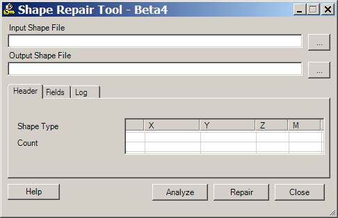 Shapefile Repair Tool