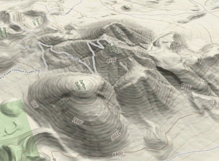 Google Maps terrain view in Google Earth