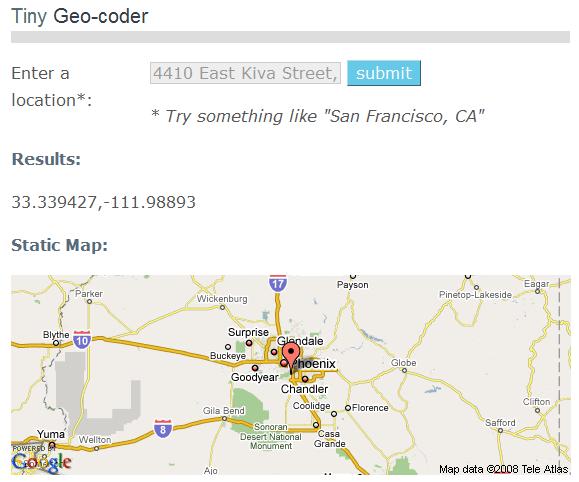 Tiny Geocoder