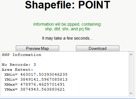 Online KML To Shapefile Converter