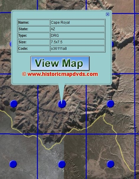 USGS Topographic Map Overlays For Google Earth