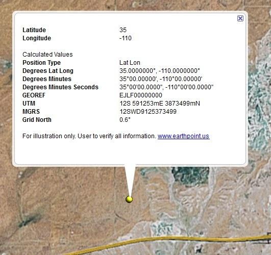 Online Lat/Long – UTM – Grid Coordinate Converter