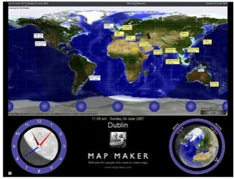 Map maker gratis free map editor sun clock available for a 30 day full featured demo at the end of 30 days some features disappear like views of the sky and stars but the world gumiabroncs Choice Image
