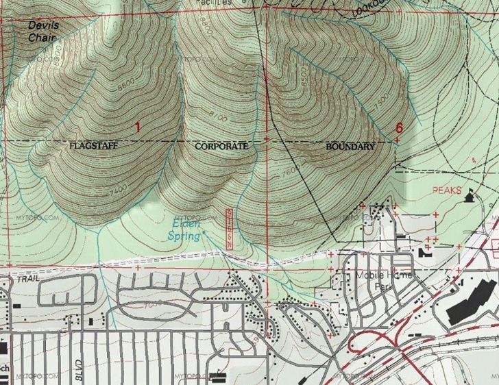 Topographic Maps For The US And Canada In A Google Maps Interface