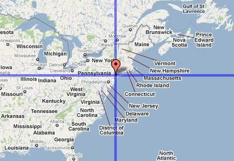 Vice Versa Nyc >> Compare Point Latitudes And Longitudes With Iso-Longitude-Latitude